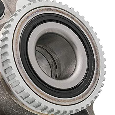 QJZ [2-Pack] 512180 - Rear Driver and Passenger Side Wheel Hub Bearing Assembly for 1999-2004 Honda Odyssey, 1999 Isuzu Oasis [Cross Reference: 051-6183, WJB WA512180, SKF BR930159]: Automotive