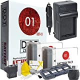 DOT-01 2x Brand Canon G9X MARK II Batteries and Charger for Canon G9X MARK II Digital Camera and Canon G9X II Accessory Bundle for Canon NB13L NB-13L