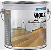 Woca Hard Wax Oil-0.75Litre, Natural, 529510A by Woca