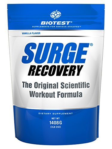 Surge Recovery - Vanilla - 1408 g by Biotest