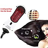 Hair Comb Infrared Anion Straight Hair Comb Portable Hot Air Comb...