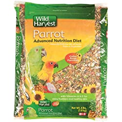 Wild Harvest Parrot Advanced Nutrition Diet, 4 lb/One Size