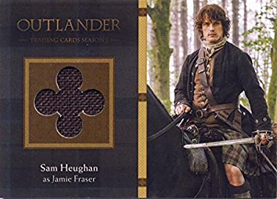 2016 Outlander Season 1 Trading Cards Wardrobe Card M22 Sam Heughan as Jamie Fraser
