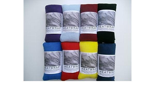 Bolsa de trigo de lana para microondas, sin aromas, de colores ...