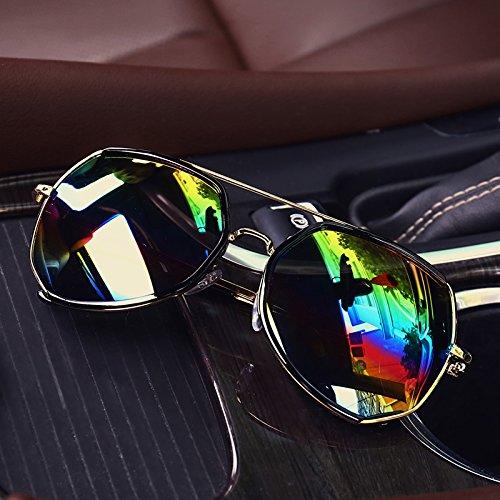 colores De Gafas Sol Sol De Gafas zhenghao De Xue Sol Oro Siete Y Gafas zxqawOBIW