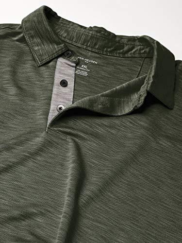 Van Heusen Men's Short Sleeve Air Performance Solid Polo Shirt
