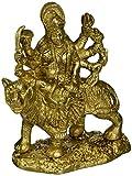 Durga Hindu Goddess Religious Statue Brass Figurines