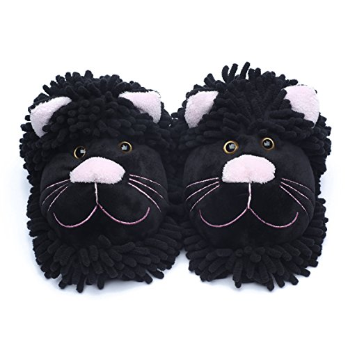 Pantofole Black Ofoot donna Ofoot donna Ofoot Cat Pantofole Black Pantofole Cat Cat donna Black 5tCfqf1S