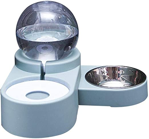 chlius Alimentador Automático para Mascotas, Alimentador De Comida ...