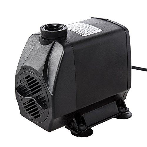 kedsum-880gph-submersible-aquarium-water-pump-hydroponic-fountain-powerhead-higher-speed-flow-adjust