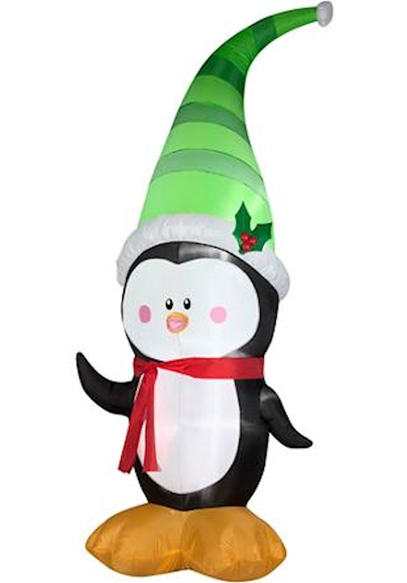 Amazon.com : Airblown Inflatable 7\' Penguin Christmas Yard ...