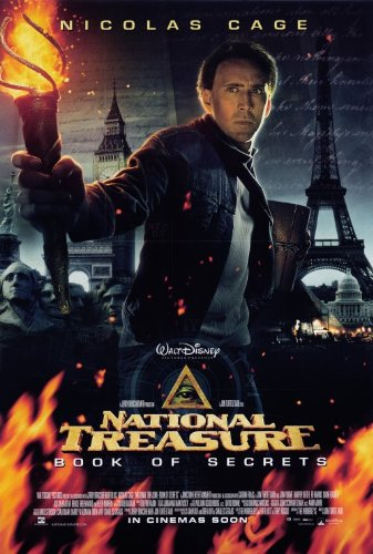 National Treasure: Book of Secrets Movie Poster 2007
