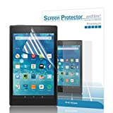 Fire HD 8 2015 Screen Protector, amFilm® New Kindle Fire 8 inch 2015 (5th Generation) Anti-Glare/Fingerprint Matte Screen Protector (2-Pack) [Lifetime Warranty]