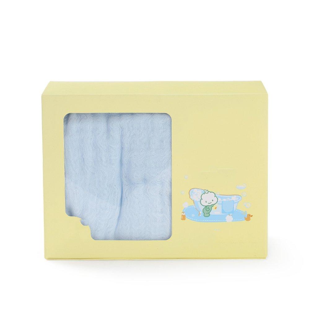 W&lx Baby 6 cotton gauze towel, Super soft Super absorbent gauze Baby blanket (One piece)-C 115x115cm(45x45inch) by W&lx