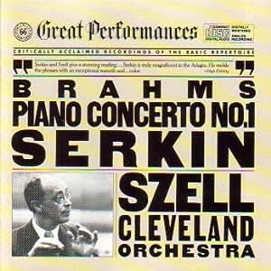 Brahms Piano Concerto 1 - Serkin Szell (CBS Great Performances)