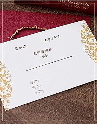 Paquete De 25 Tarjetas De Invitación Formal Para Tarjetas De