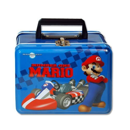Lunch Box Nintendo Plastic Handle