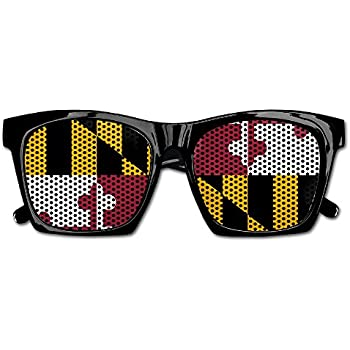 b605a10217d8 Elephant AN Themed Novelty Flag Of Maryland Decoration Visual Mesh  Sunglasses Fun Props Party Favors Gift Unisex