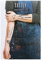 Tattly Temporary Tattoos Art Supplies Set, 1 Ounce