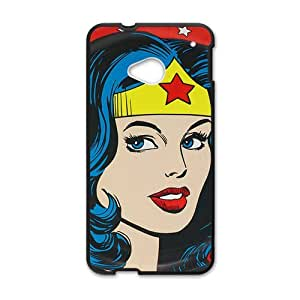 Happy Amazing woman Cell Phone Case for HTC One M7