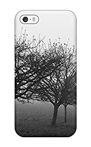 Foggy Country Road Fog Monochrome Nature Other Case Compatible With Iphone 5/5s/ Hot Protection Case