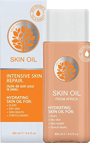 Specialist for Scar Treatment, Stretch Mark, Uneven Skin Tone, Ageing Skin, Dehydrated Dry Skin - Skin Oil From Africa, Intensive Hydrating Skin Care Repair. 3.4 Oz (1 Pack)