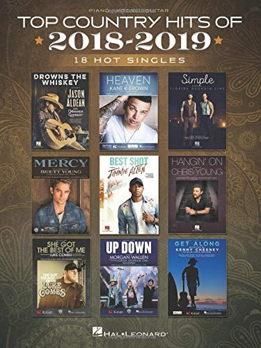 Top Country Hits of 2018-2019: 18 Hot Singles (Country Music Piano)