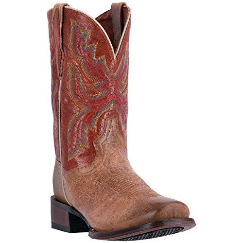 Dan Placera Sina Mens 11 Tan / Orange Ardmore Cowboykänga Certifierad Dp4146 11 Ew