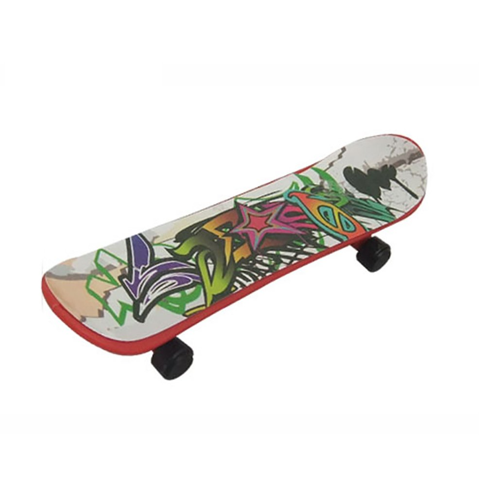 1pc Mini Fingerboards Finger Skateboard Matte Surface Random Color Hemore