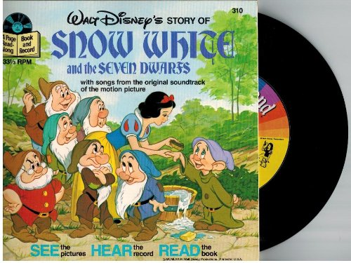 SNOW WHITE AND THE SEVEN DWARFS Book and Record #310