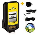 G-PORTER GP-102+ (yellow) Multifunction GPS Device/ Sport Tracker - USB Charger (US) Bundle