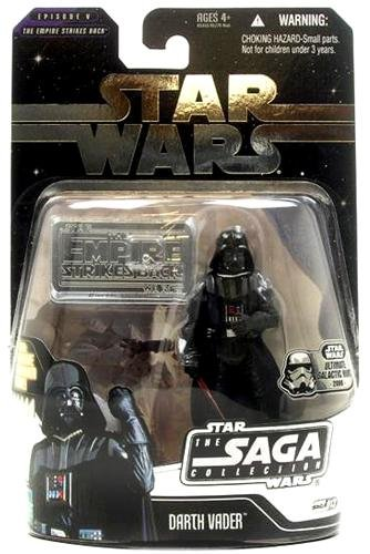 Star Wars Saga '06 Basic Action Figure Darth Vader Ultimate Galactic Hunt