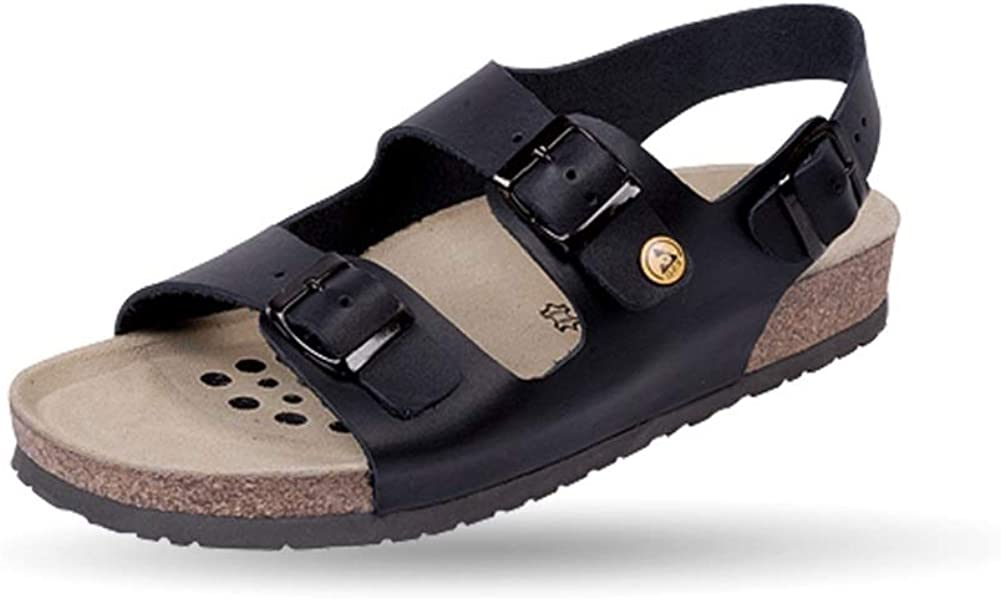 Weeger Mens ESD Antistatic Leather Sandal