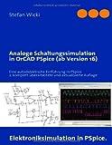 Book Cover for Analoge Schaltungssimulation in PSpice: Eine autodidaktische Einführung in PSpice