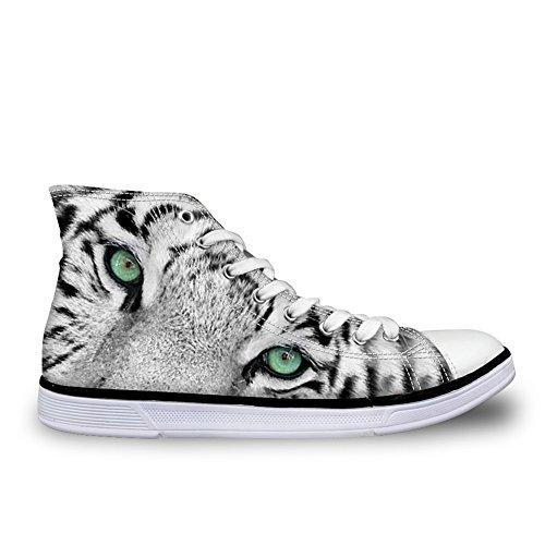 tiger Alto Donna A Coloranimal Collo pattern 3 qHwPOwpCB