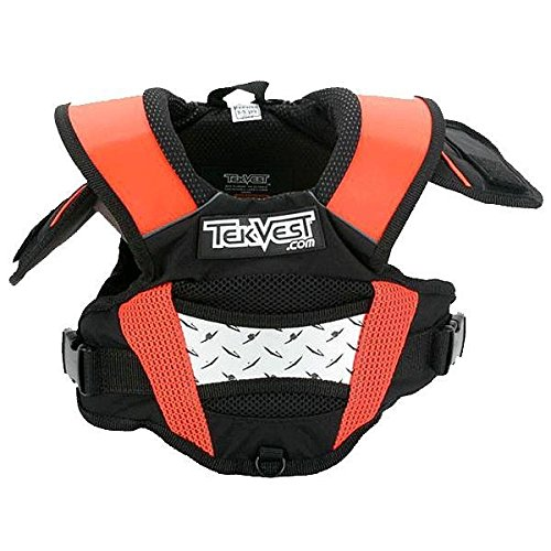 Tekrider Kids Pro Lite SX Tekvest , Size: OSFM, Size Segment: Youth, Gender: Boys TVXK2400