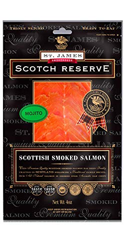 Scottish Reserve Smoked Salmon Infused with Mojito 16 - Scottish Salmon