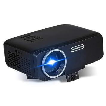 Asg Proyector portátil, Proyector de Video LED, Proyector ...