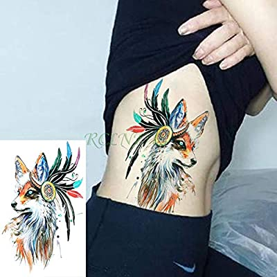 ljmljm 3 Piezas Impermeable Tatuaje Pegatina Tatuaje Personalidad ...