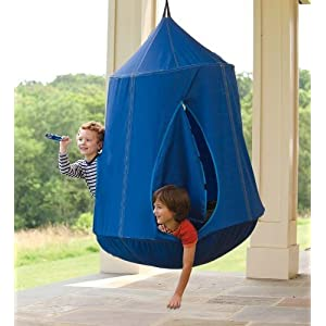 HugglePod HangOut with LED Lights - Blue