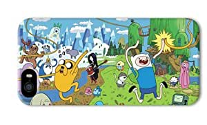 Adventure Time Cartoon-002 Iphone 5/5S Hard Protective 3D Case by eeMuse
