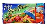 Ziploc Zip'N Steam Cooking Bags, Large, 7-Count(Pack of 3)
