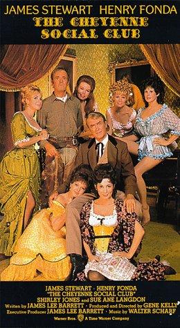 The Cheyenne Social Club [VHS]