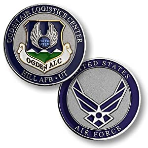 Ogden Air Logistics Center Hill AFB Challenge Coin