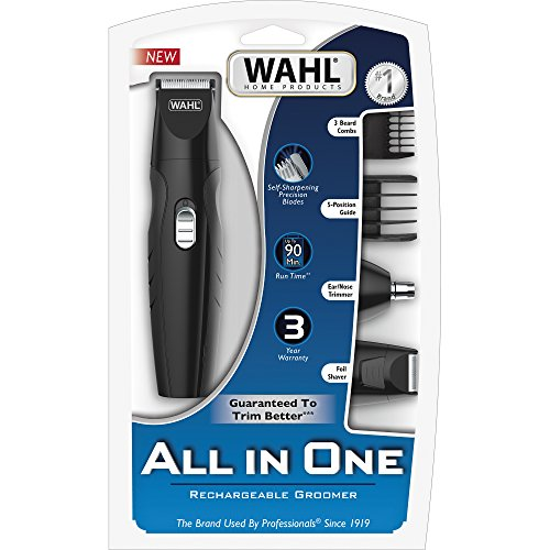 wahl all in one rechargeable grooming kit 9685 wahl beautil. Black Bedroom Furniture Sets. Home Design Ideas