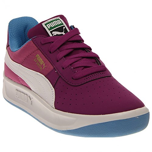 PUMA GV Special Ripstop Jr Sneaker (Little Kid/Big Kid), Grape Juice/White/Meadow Mauve, 7 M US Big Kid (Puma Gv Special White)