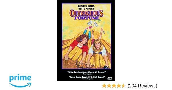 Amazon com: Outrageous Fortune: Shelley Long, Bette Midler
