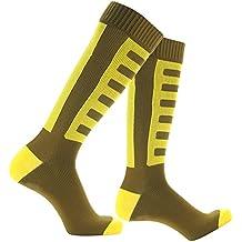 Waterproof Skiing Socks, [SGS Certified] RANDY SUN Unisex Knee Length Breathable Hiking Trekking Sock 1 Pair