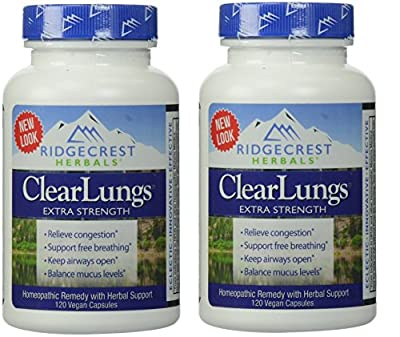 Ridgecrest Herbals - Clearlungs Extra Strength