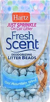 Hartz Fresh Scent Deodorizing Litter Beads Cool Mountain Wind